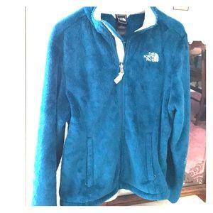 North Face plush jacket